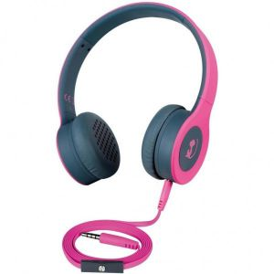 Koptelefoon Wonky Monkey Headphone Rumble Roze