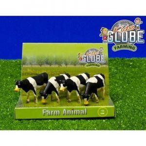 Koe Kids Globe Zwart/Wit Staand 4 Stuks 1:50