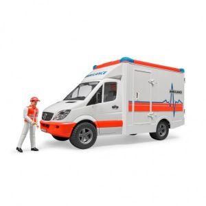 Bruder Ambulance Met Chauffeur