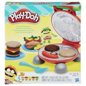 Playdoh Burger Barbeque