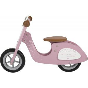 Little Dutch loopscooter Roze