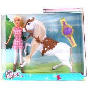 Pop Fleur met paard