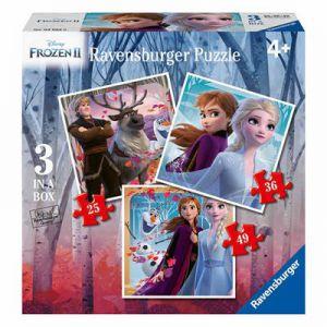 Puzzel Frozen2 3 In 1