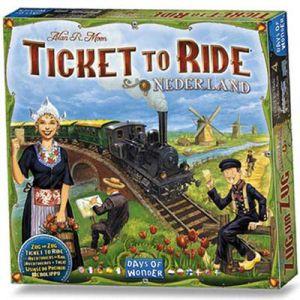 Ticket to ride Nederland (uitbreiding)