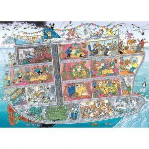 Puzzel Jan Van Haasteren Cruiseschip 1000 Stukjes