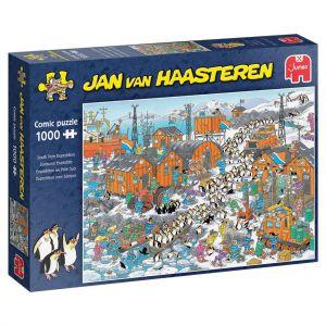 Puzzel Jan Van Haasteren Zuidpool Expeditie 1000 Stukjes
