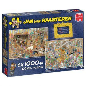 Puzzel Jan Van Haasteren Museum 2x 1000 Stukjes