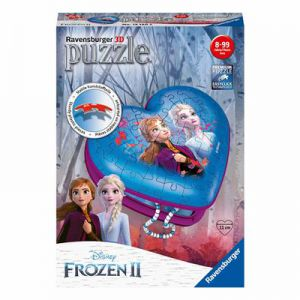 Puzzel hartendoosje Frozen