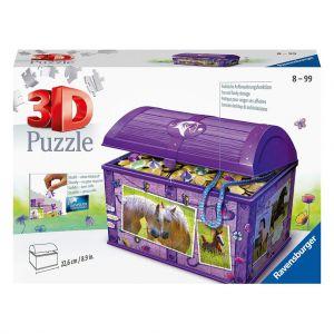 3D Puzzel paarden opbergdoos
