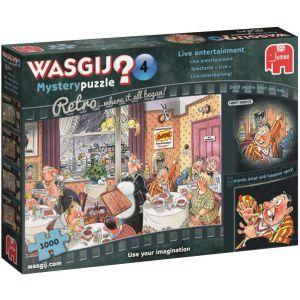 Puzzel Wasgij Retro Mystery 4: 1000 stukjes
