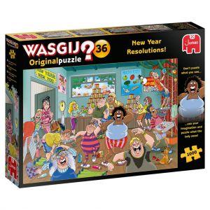 Puzzel Wasgij Original 36 Goede Voornemens 1000 Stukjes