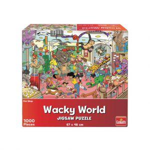 Puzzel Wacky World Petshop 1000st