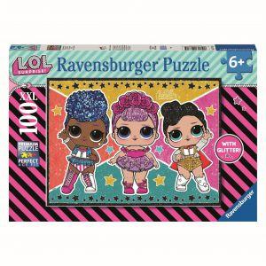 LOL Puzzel Glitter 100 st
