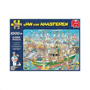 Puzzel Jan Van Haasteren Tall Ship Chaos 1000