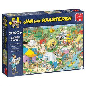 Puzzel Jan van Haasteren Kamperen 2000 Stukjes