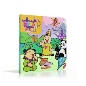 Kartonboek bumba in azië