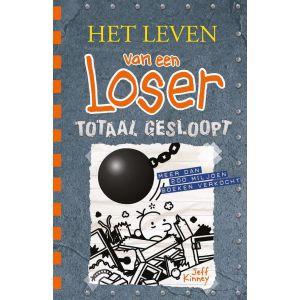 Boek leven van een loser 14 totaal gesloopt