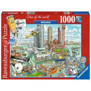 Puzzel 1000 stuks fleroux- rotterdam