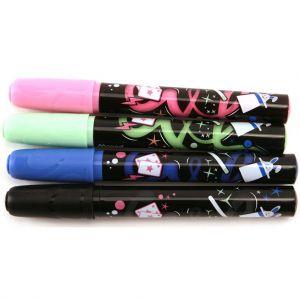 Krijtstiften 4 kleuren incl zwart