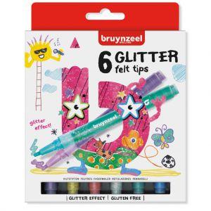 Glitter viltstiften Bruynzeel