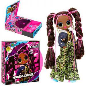 LOL Surprise OMG AA Doll Honeylicious