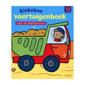 Boek kiekeboe voertuigenboek