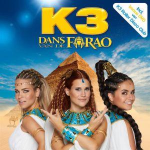 CD K3 Dans Van De Farao + DVD