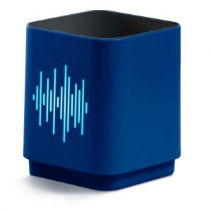 Speaker Bluetooth Led Equalizer Blue