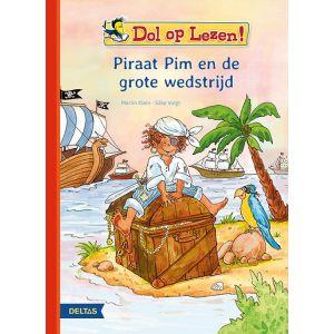 Boek dol op lezen! pim piraat en de grote wedstrijd