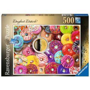 Puzzel 500 stuks donut disturb