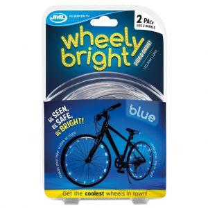 Wheely bright blauw 2 stuks