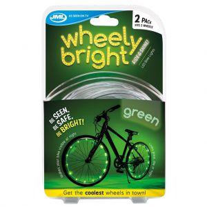 Wheely bright groen 2 stuks