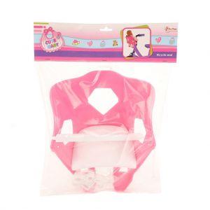 Poppenfietsstoel Baby Roze