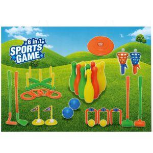 Sportset 6 in 1
