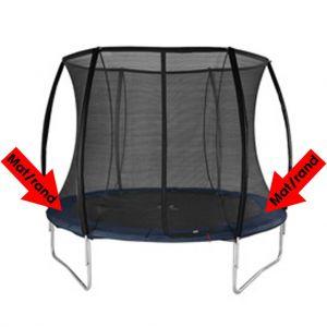 Trampoline rand mat zwart