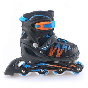 Inline skates Alert Blauw/oranje 35-38