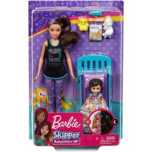 Barbie Skipper Babysitter speelset - bedtijd