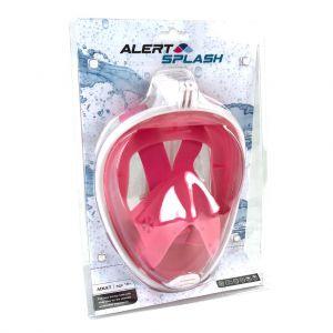 Duikbril Masker L/XL Roze Alert