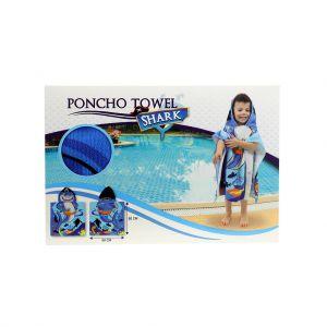 Poncho Handdoek Haai