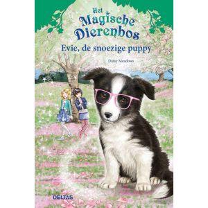 Boek het magische dierenbos Evie de snoezige puppy