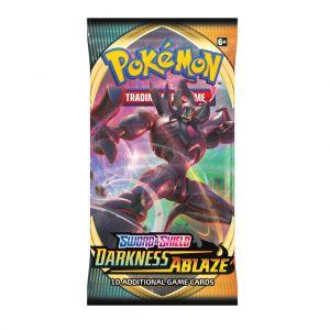 Pokemon Sword & Shield Darkness Ablaze Booster