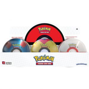 Pokemon TCG Pokeball March Tin Assorti