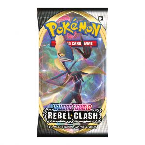 Pokémon Sword & Shield Rebel Clash Booster