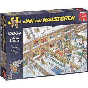 Jan van Haasteren Kerstavond puzzel - 1000 stukjes