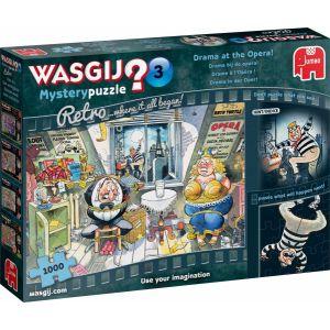 Puzzel Wasgij Retro Mystery 03: 1000 stukjes