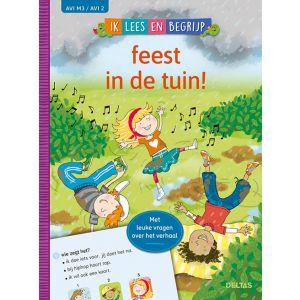 Boek AVI M3 Ik lees en begrijp - feest in de tuin!