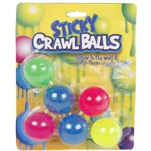 Sticky bal glow in the dark 6stuks