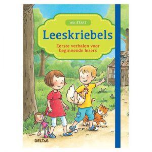 Leeskriebels eerste verhalen voor beginnende lezers