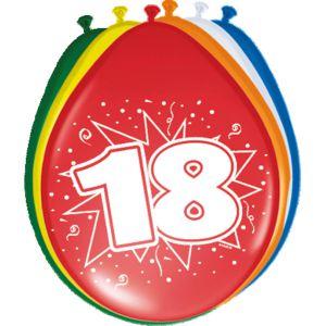 Ballonnen 18 jaar