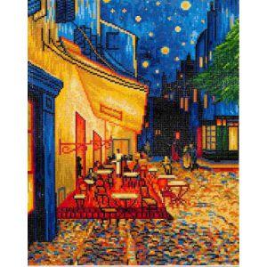 Diamond Dotz Café bij nacht Van Gogh